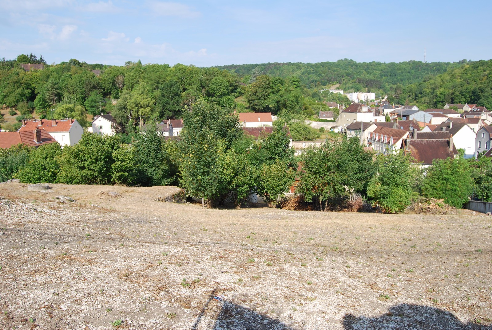 Vente terrain constructible de 1110m for Terrain constructible